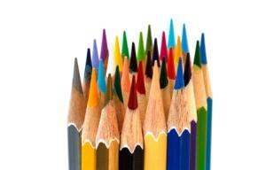 Pastel or Crayon